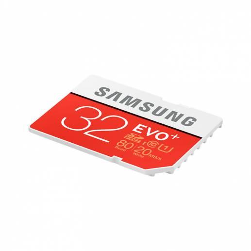 32GB Samsung EVO+ Plus - microSDHC Speicherkarte