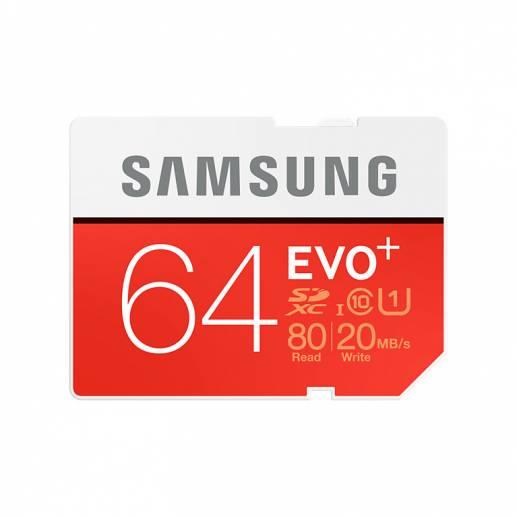 64GB Samsung EVO+ Plus - microSDXC Speicherkarte