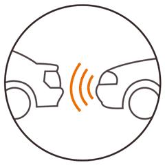 Abstand Warnsystem (FCWS)